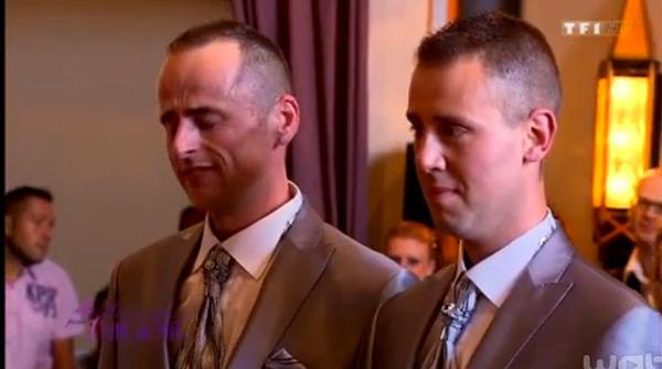 Le mariage gay Jocelyn et jean Claude dans 4 mariages sur TF1