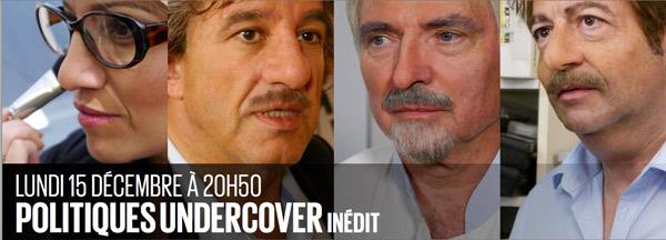 Les vidéos à suivre de Politiques undercover de D8
