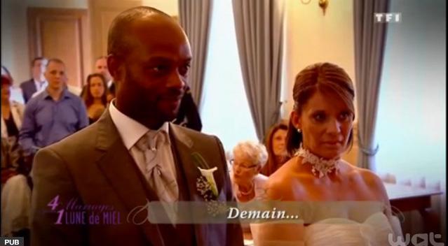 Où Christine a acheté sa belle robe de mariée ?
