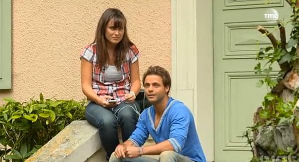 Fanny et David (aliad David Tournay / Léo De foudre) complices dans les mystères de l'amour TMC