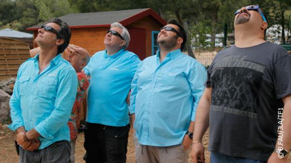 Nouvel épisode de Camping Paradis l'éclipse du camping