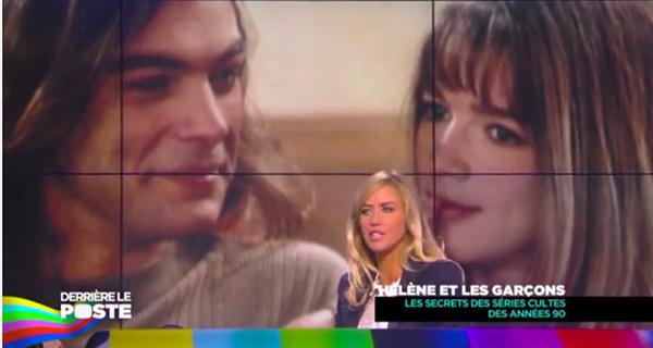 Hélène et Nicolas amoureux dans la vie - les mystères de l'amour-