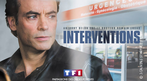 Avis sur la série Interventions de TF1 : Anthony Delon le beau gosse