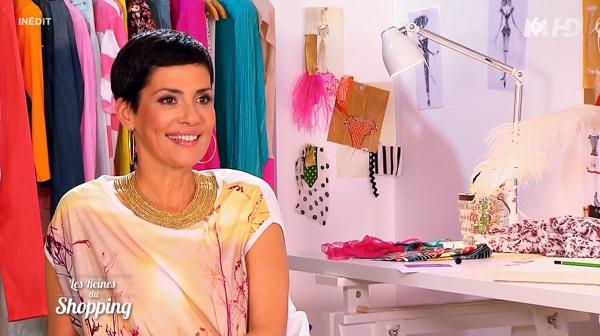 Cristina Cordula en access avec les rois du shopping pour hommes
