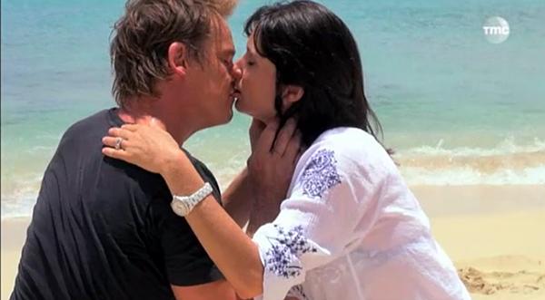 Le baiser Peter et Jeanne