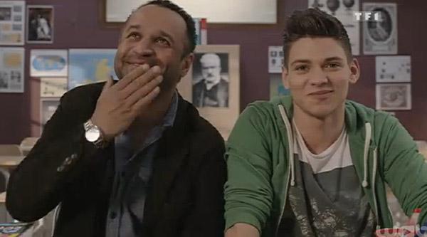 Rayane Bensetti dans Clem saison 5 / Capture écran peps