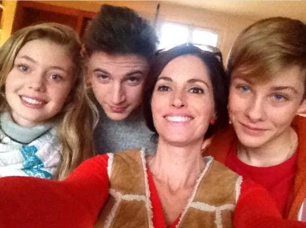 Les ados Lea, Diego et Nicky des mystères de l'amour saison 8 #LMDLA / Capture écran facebook Magalie Semetys fans