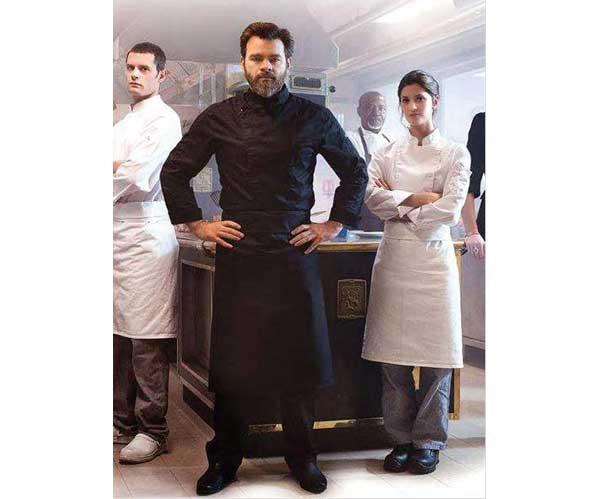 Le forum de la série Chefs France 2 avec Clovis Cornillac /  Photo :  Calt / Christophe Charzat