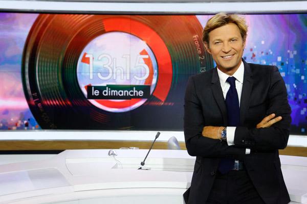 Laurent Delahousse journaliste préféré des français 2014 selon le JDD  / Photo : Christophe Russeil-FTV
