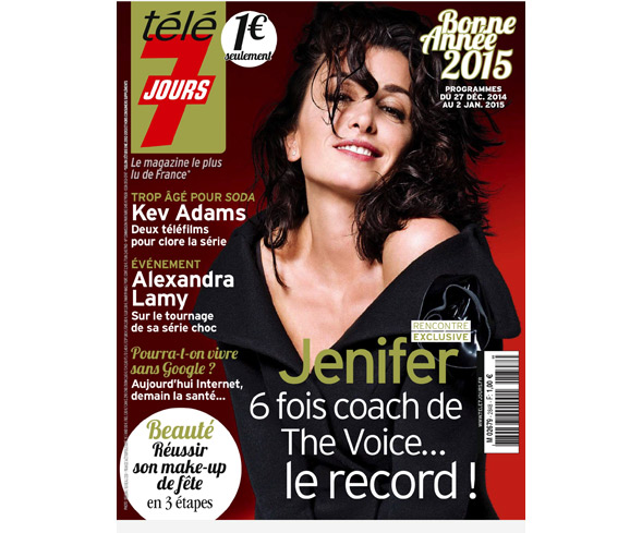 Jenifer et The Voice 4 jurée depuis la saison 1