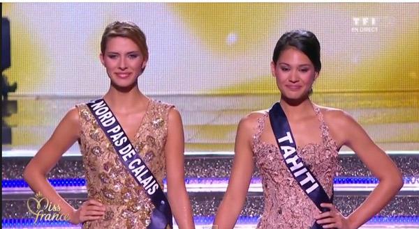Miss France 2015 et la 1ère dauphine