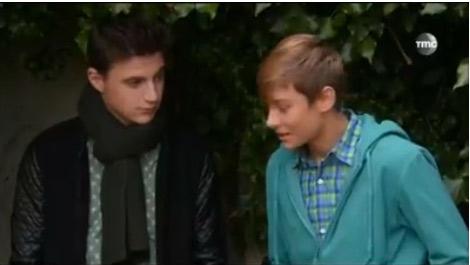 Le nouveau Diego avec Nicky dans les mystères de l'amour saison 8