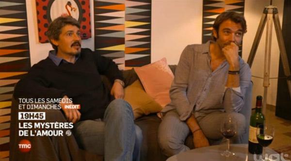 Nico et José amis après 20 ans dans les mystères de l'amour saison 8.  #LMDLA
