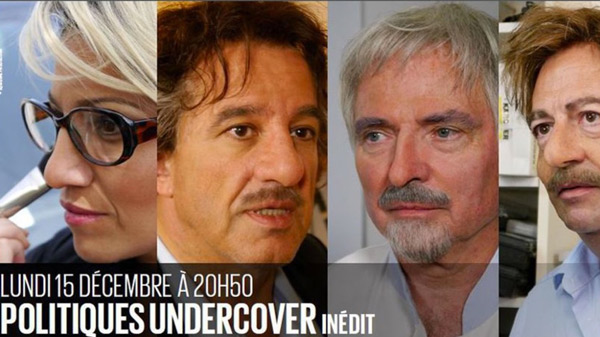 Nouvelle téléréalité politique D8 c'est Politiques Undercover ! vos réactions.