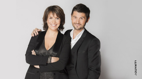 Duo Carole Rousseau et Christophe Beaugrand