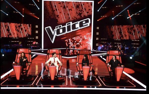 The Voice 4 les auditions du 10 janvier 2015 / Photo twitter mathieu grelier