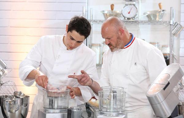 Xavier heureux gagnant Objectif Top Chef le 19 décembre / - Aurélien Faidy / M6