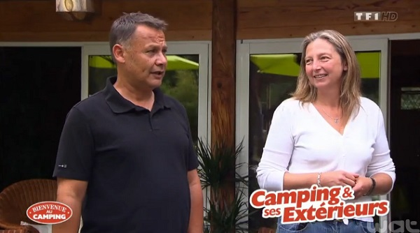 Avis et adresse sur le camping de Nathalie et Jean Marc de TF1 sur Bienvenue au camping