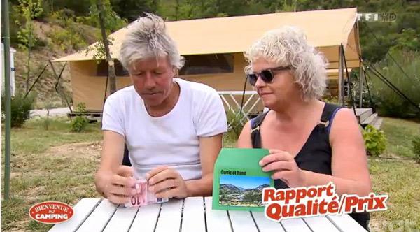 Avis et commentaire avec l'adresse du camping de Corrie et René dans Bienvenue au camping de TF1