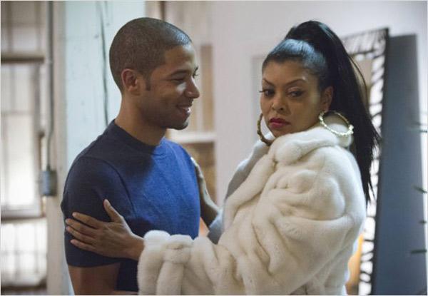 Jamal et Cookie sa mère dans Empire FOX saison 1