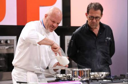 Qui peut battre Philippe Etchebest dans Top Chef 2015 ? / Crédit : PIERRE OLIVIER/M6
