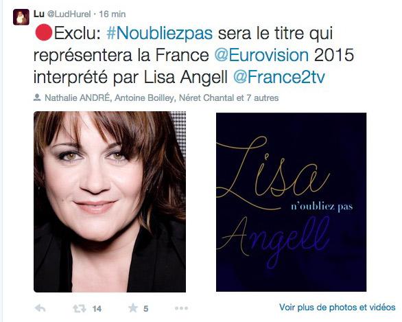 La France à l'Eurovision 2015 a-t-elle une chance? Que vont en penser les bookeurs dans leurs paris?