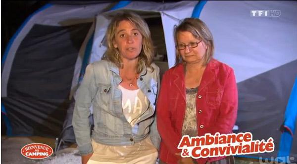 Avis et commentaires sur Florence et Dominique dans Bienvenue au camping
