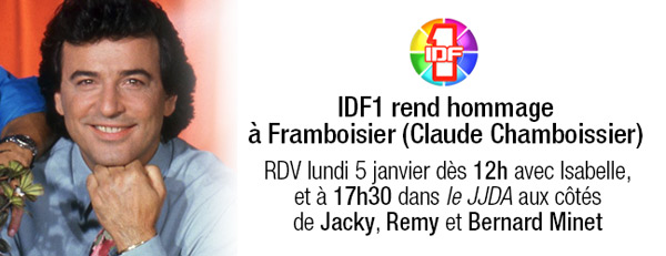 Hommage télé à Framboisier sur IDF1 : comment regarder ? / Capture écran facebook