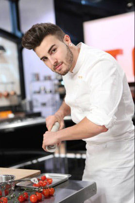 Biographie de Kevin d'Andrea de Top Chef 2015 / Crédit : PIERRE OLIVIER/M6