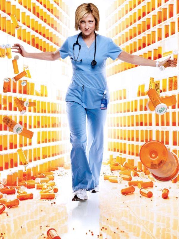 Annulation Nurse Jackie en 2015 / ©2012 Showtime Networks Inc.
