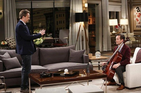 """The Odd Couple"" marquera le retour de Matthew Perry (à gauche) à la télévision ©Cliff Lipson/CBS / Source AFP relaxnews"