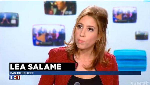 Léa Salamé en duo avec qui dans On n'est pas couché ?