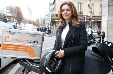Avis et commentaires sur Patron incognito M6 avec coursiers.com / Crédit : Marie ETCHEGOYEN/M6