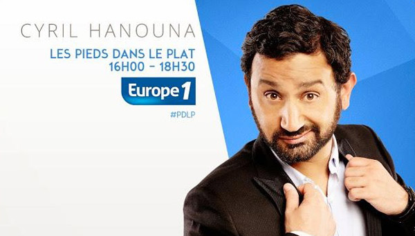 Audience Les pieds dans le plat Europe 1 novembre/décembre 2014
