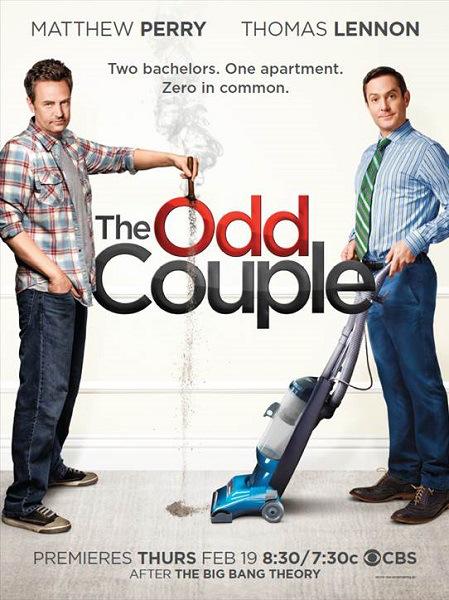 The Odd couple le poster affiche promo dévoilée