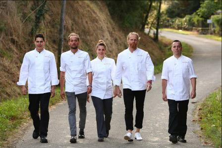 Découvrez Xavier, Jeremy, Harmony, Nicolas, Christophe de Top Chef 2015 Crédit : PIERRE OLIVIER/M6