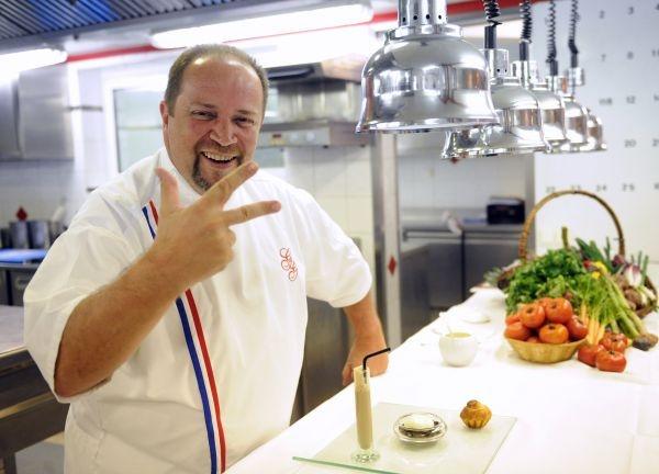 """Avis Gilles Goujon qui rejoint le jury de """"Masterchef"""" sur TF1 ©AFP PHOTO REMY GABALDA / article avec AFP Relaxnews"""