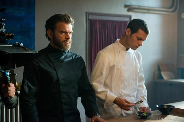 Quelle audience pour la série culinaire Chefs de France 2 avec Clovic Cornillac super héros? / Photo : Christophe Charzat - FTV- CALT