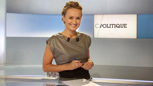 Les invités de C politique sur France 5 de Caroline Roux / Photo France 5