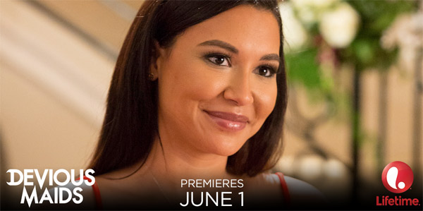 Première photo de Naya Rivera dans Devious Maids saison 3