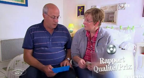 Avis et commentaires sur les chambres d'hôtes de Blandine et Yves de Bienvenue chez nous sur tf1