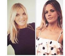 Les belles Emilie Albertini et Justine Fraioli pour mardi gras sur D8 le 17 février / Photo D8
