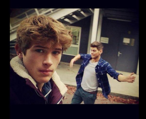 Lucas le mec de Dimitri dans Clem saison 5 / @Noemieg44