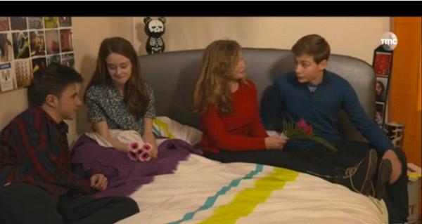 Diego et Laura ont couché ensemble mais pas encore pour Nicky et Léa ...ils se sentent pas prêts