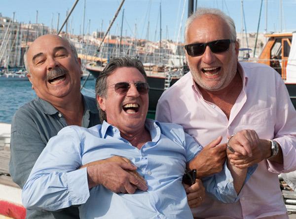 Avis et commentaires sur le film Entre amis -2015- avec Jugnot, Berleand et Auteuil / ©Jean-Marie LEROY