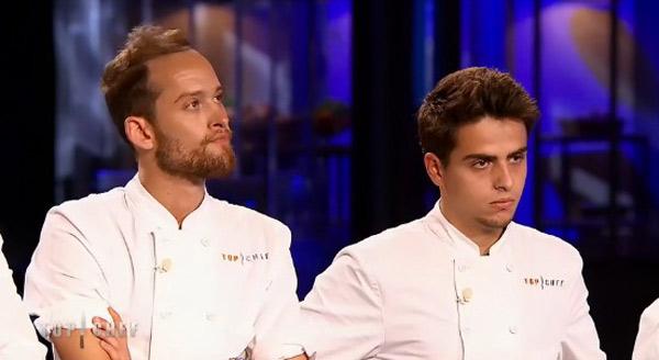 Jean Baptiste éliminé de Top Chef 2015