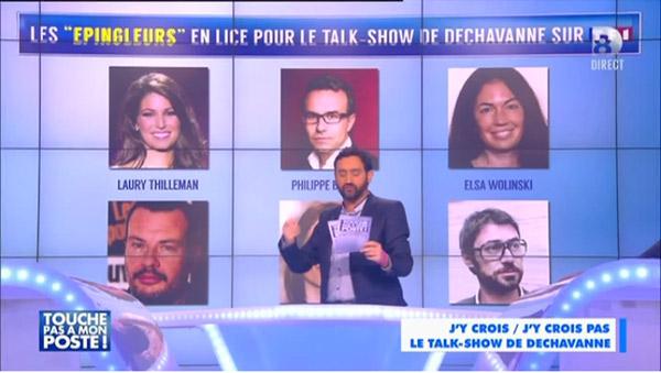 Avis et commentaires talk show TF1 de Dechavanne au printemps 2015 #LesEpingleurs