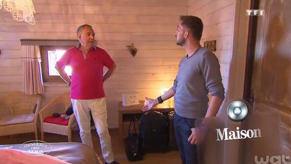 Ludovic et Patrice avec leur château gagnent Bienvenue chez nous