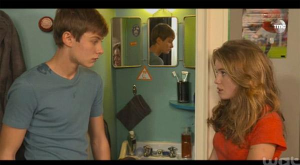 Nicky et Léa amoureux dans les mystères de l'amour #LMDLA