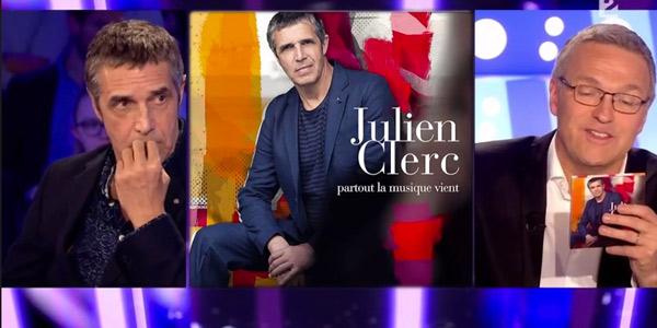 Revoir en replay On n'est pas couché du 14/02 avec Julien Clerc, Yseult, Maxime Chattam ou encore Geoffroy Didier